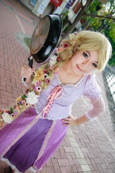Disney Tangled - Rapunzel by Xeno-Photography