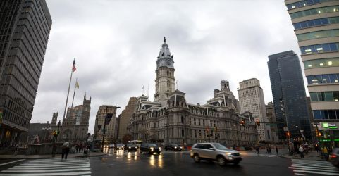 Cloudy day in Philly by CAVIII