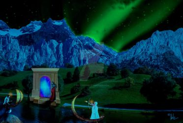 Gate to Another World by Helz-Design