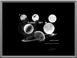 Planet Brushes SET 1 by titoff77