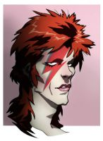 ziggy stardust by CHUBETO