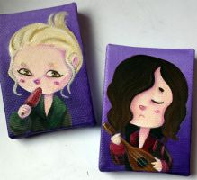 Only Lovers Left Alive magnet minicanvas! by Nachan