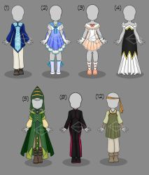 Clothing: Adopts (CLOSED) by Zombie-Echo
