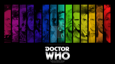 The Thirteen Doctors Wallpaper - Doctor Who by theDoctorWHO2