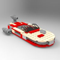 Brick Landspeeder1 by VanishingPointInc