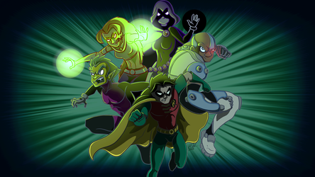 Teen Titans by Most-High-Studios