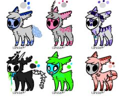 [Open] [3/6] Skull Fuzzy Adopts by NewAdopts666
