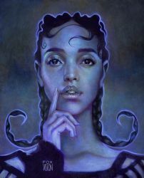 FKA twigs by FoxVision1