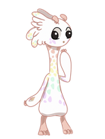MMCrystal 011- Rainbow Giraffe [Flat Sale- Closed] by KineticSoulz