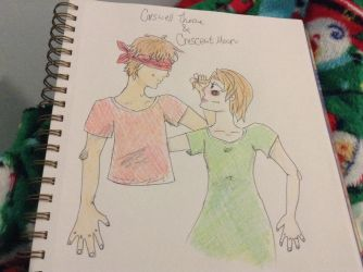 Thorne and Cress, The Lunar Chronicles by CupcakeCarmen123