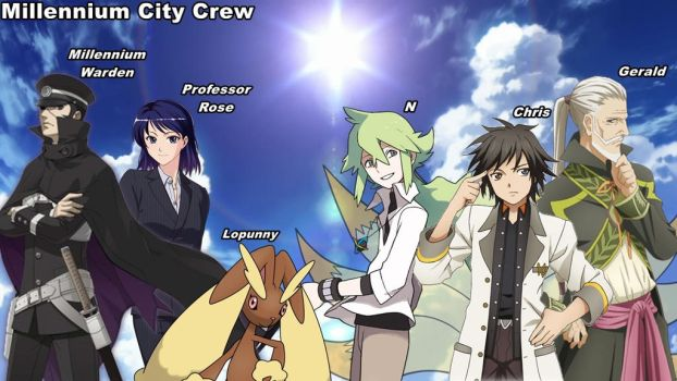 Say Hello To The Millennium City Cast by The-Guardian-Master