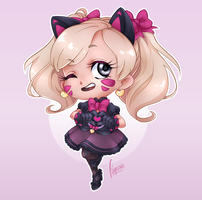Black kitty by flopicas