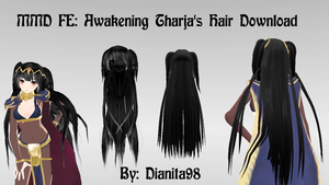 MMD FE: Awakening Tharja Hair Pack Download by dianita98