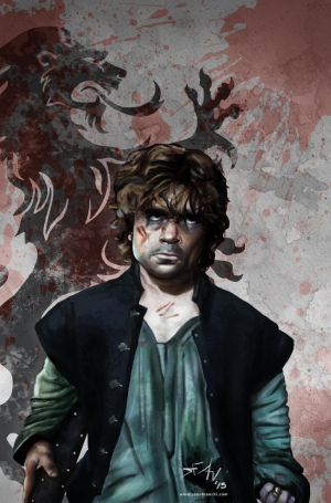Lion Slayer Tyrion Lannaster by seanbianchi