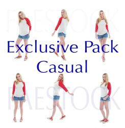 exclusive stock pack - Casual by faestock