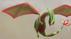 Flygon by R8A-creations