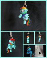 Rainbow Dash Charm by minnichi