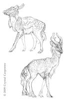 Qilin Sketches Part 3 by soulofwinter