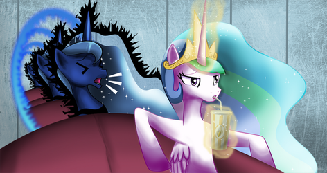 Two Best Sisters by zelc-face