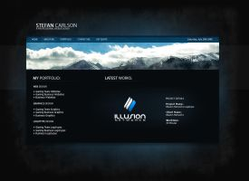 Personal Portfolio Website v2 by zblowfish