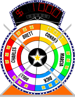 Star Wheel #5 $1,000 by mrentertainment