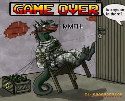 Game over for Slasinth the armsdealer by SteinWill