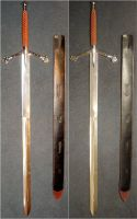 Unsheathed Scottish Claymore by FantasyStock