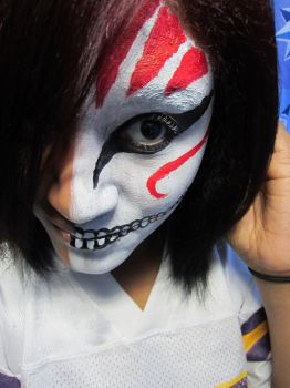 Bleach Hollow makeup XD by jessibaxx
