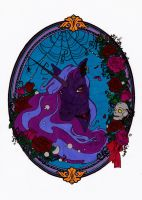 Gothic Unicorn Colored by Maiko-Girl