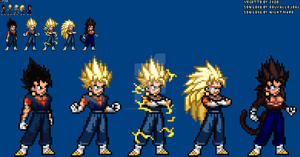 [JUSLite] Vegetto's forms (Update)