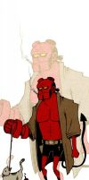 Hellboy by Slotshe