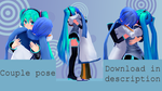 [MMD] Pose request done [Pose DL] by MinuzNegative