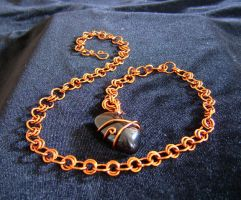 Pendant maille necklace by SaraStar