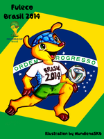 .:World Cup Mascots:. Fuleco by MundienaSKD
