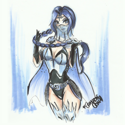 _Shiranui _ marker sketch _ by CathrieWarehouse