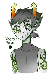 [Fantroll]: Xecrov Nervel by SimplyDefault