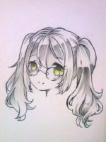 Request 7: Headshot Sketch by Sweetmeloday