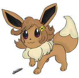 New Milly Eevee by Aso-Designer
