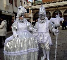 Venice Carnival 2013 - We are the white horses by vladioglas