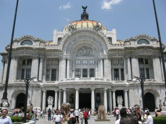 Palacio de Bellas Artes by Blackmattetoro