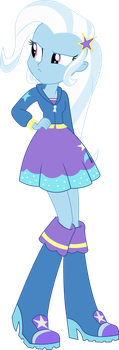 Vector - EqG Trixie by SketchMCreations