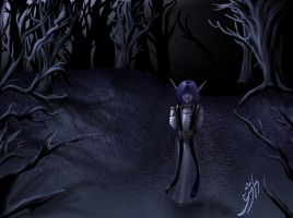 Evil Child of the Forest by vasuki