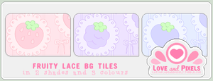 Vector - FruityLace BG Tiles by firstfear