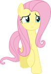 Fluttershy - O~O by Comeha