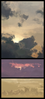 Cloud Studies by FoxInShadow
