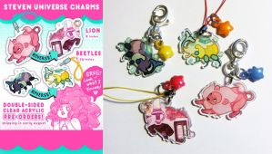 Steven Universe Charms by ShyCustis