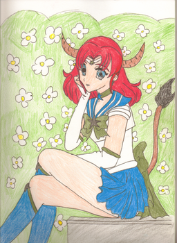 SS: Sailor Taurus for Maria by Genesis-ZEO