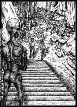 The black queen of zombies: unpublished art B. IV by middaschronicles