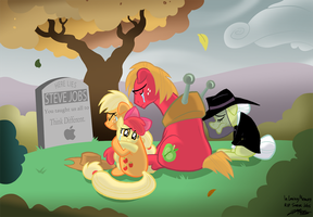 Apple Memorial by WillDrawForFood1