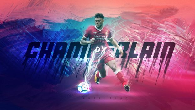 Alex Oxlade-Chamberlain Wallpaper (Liverpool) by AW-Edition